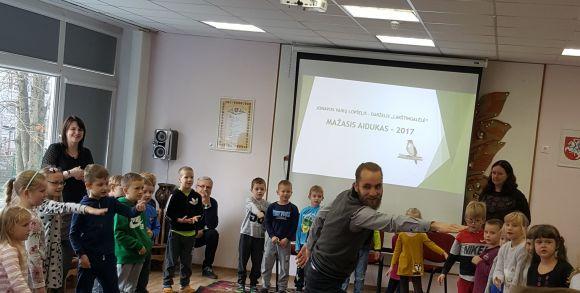 """Forumas """"Aidas 2017"""" ataidėjo mažuoju """"Aiduku"""""""
