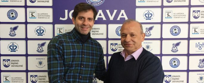 """Naujasis FK """"Jonava"""" vyriausiasis treneris – portugalas Filipe Ribeiro!"""