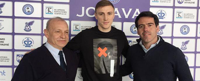 """Naujasis FK """"Jonava"""" saugas – Ernestas Veliulis!"""