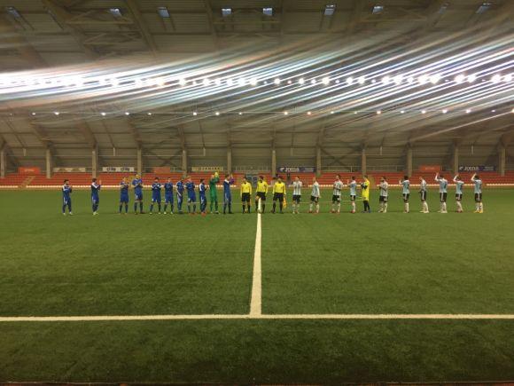 """Agresyviose rungtynėse FK """"Jonava"""" išplėšė lygiąsias"""